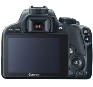 Canon EOS Rebel SL1 back