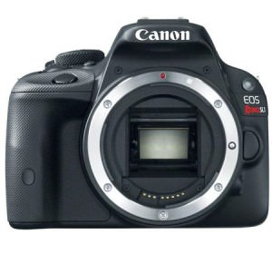 Canon EOS Rebel SL1 front image