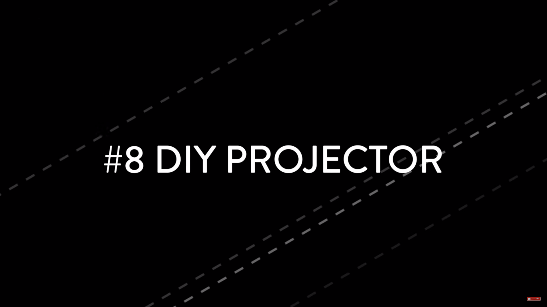 diyprojector min