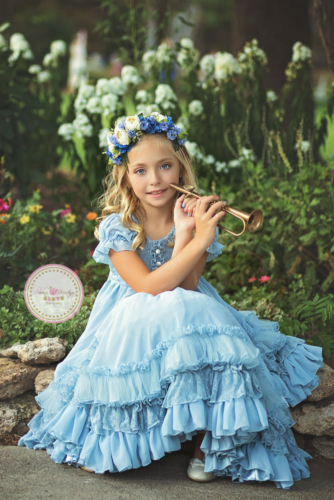 girls nelle blue rain lavender blue Paulina Martinez web res little boy blue sew trendy retreat 2017 sew trend
