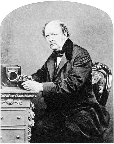 474px William Henry Fox Talbot by John Moffat 1864