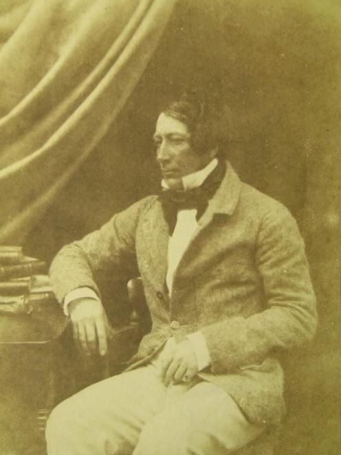 James Ogilvie Fairlie 1840s salt paper calotype
