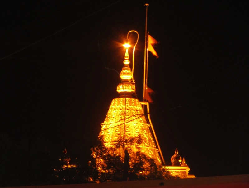 Sai Baba Temple at Night, Shirdi, INDIA