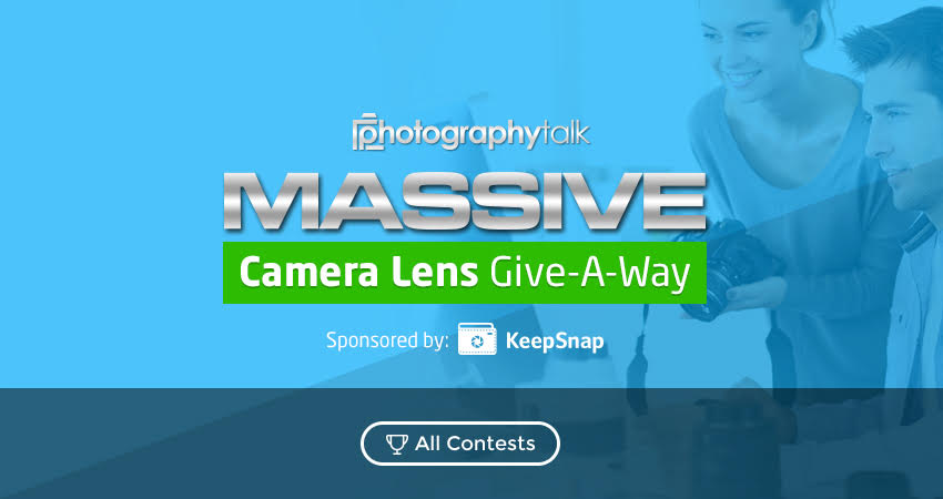 Massive Camera Lens Give-A-Way!!