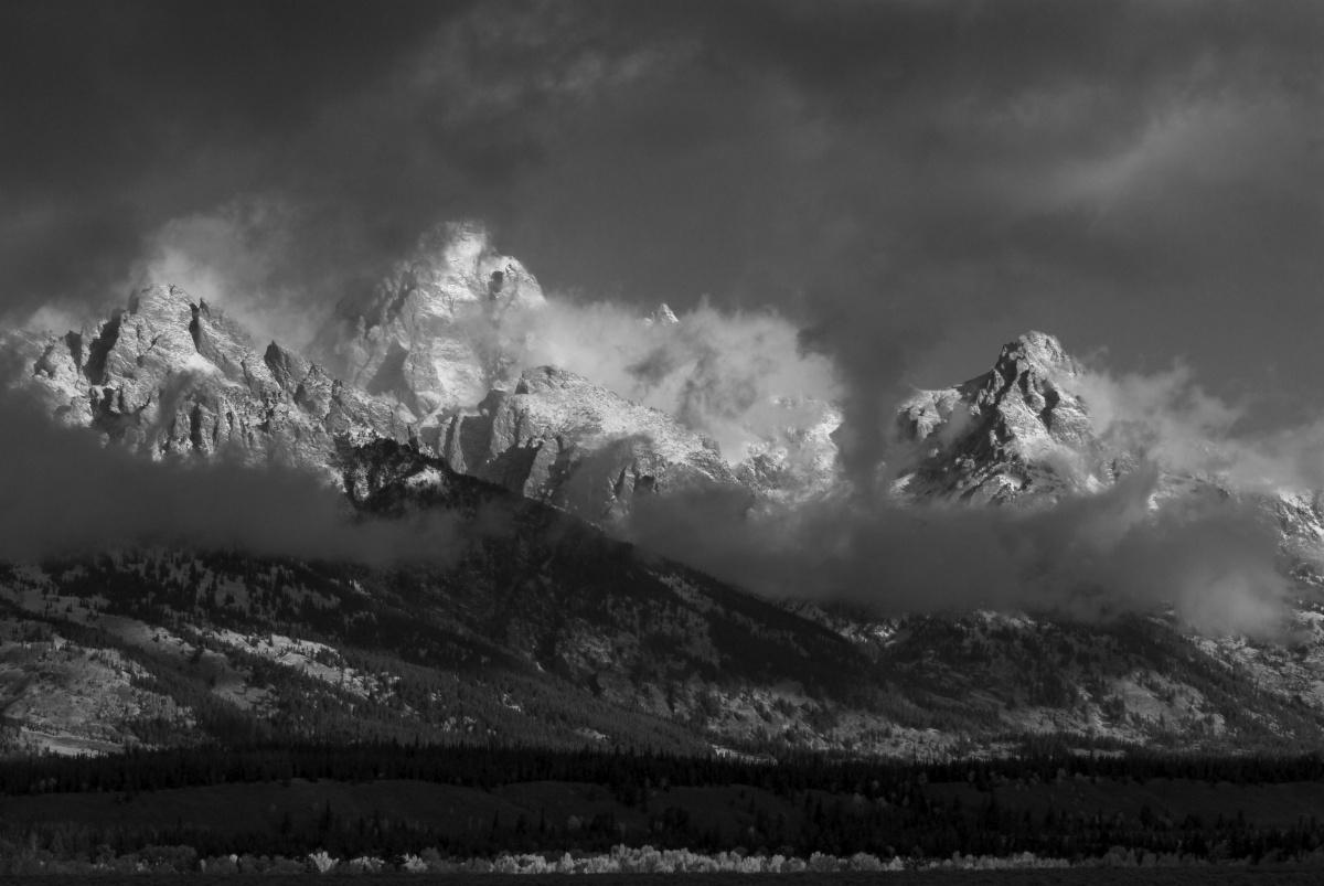 Monochromatic Mountains
