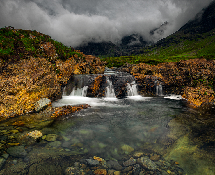 Fairy pools,Isle of Skye