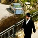 On his way to Shabat pray...