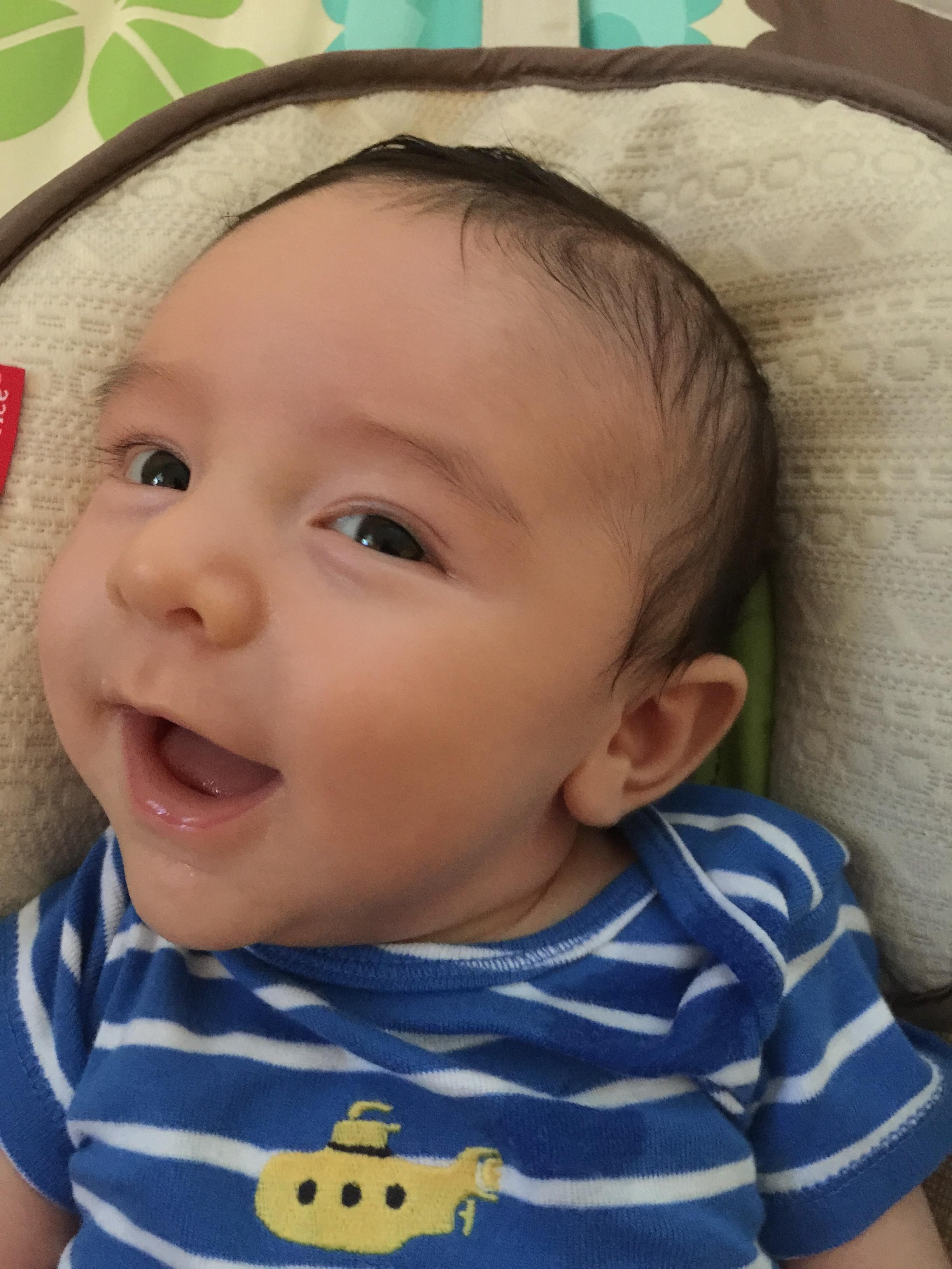 Caleb 2 months old