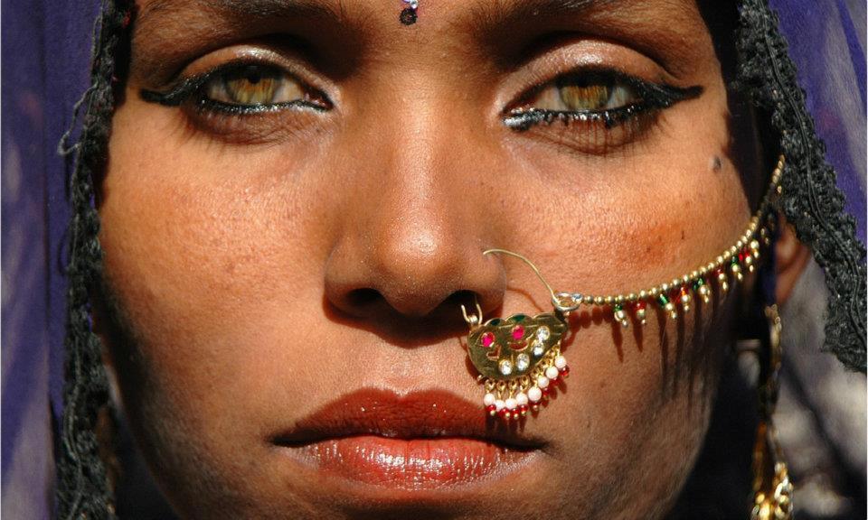 Tribal look..