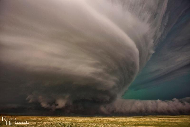 Nebraska Monster Supercell Storm