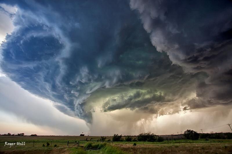 Colorful Oklahoma Storm