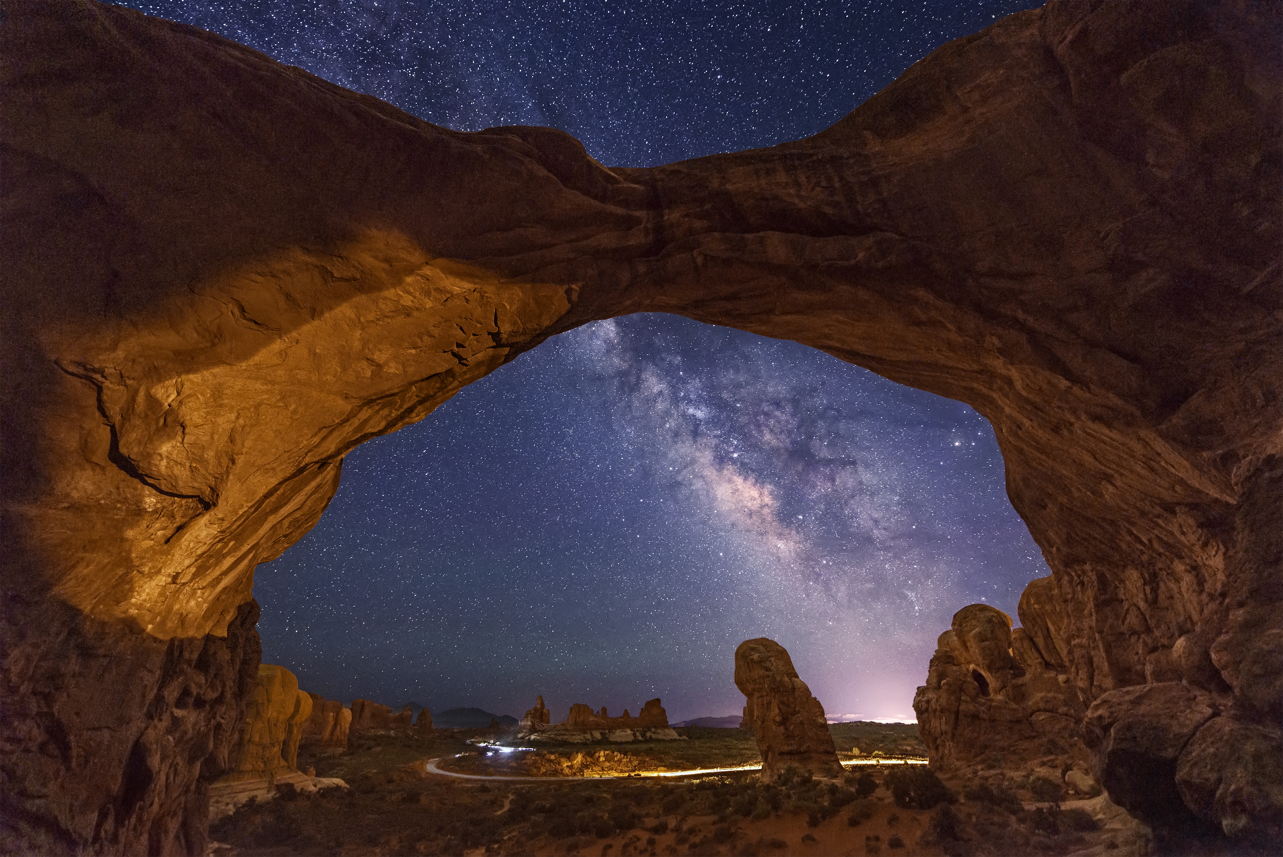 Double Arch Milky Way
