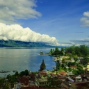 toba lake (prapat, north sumatera)