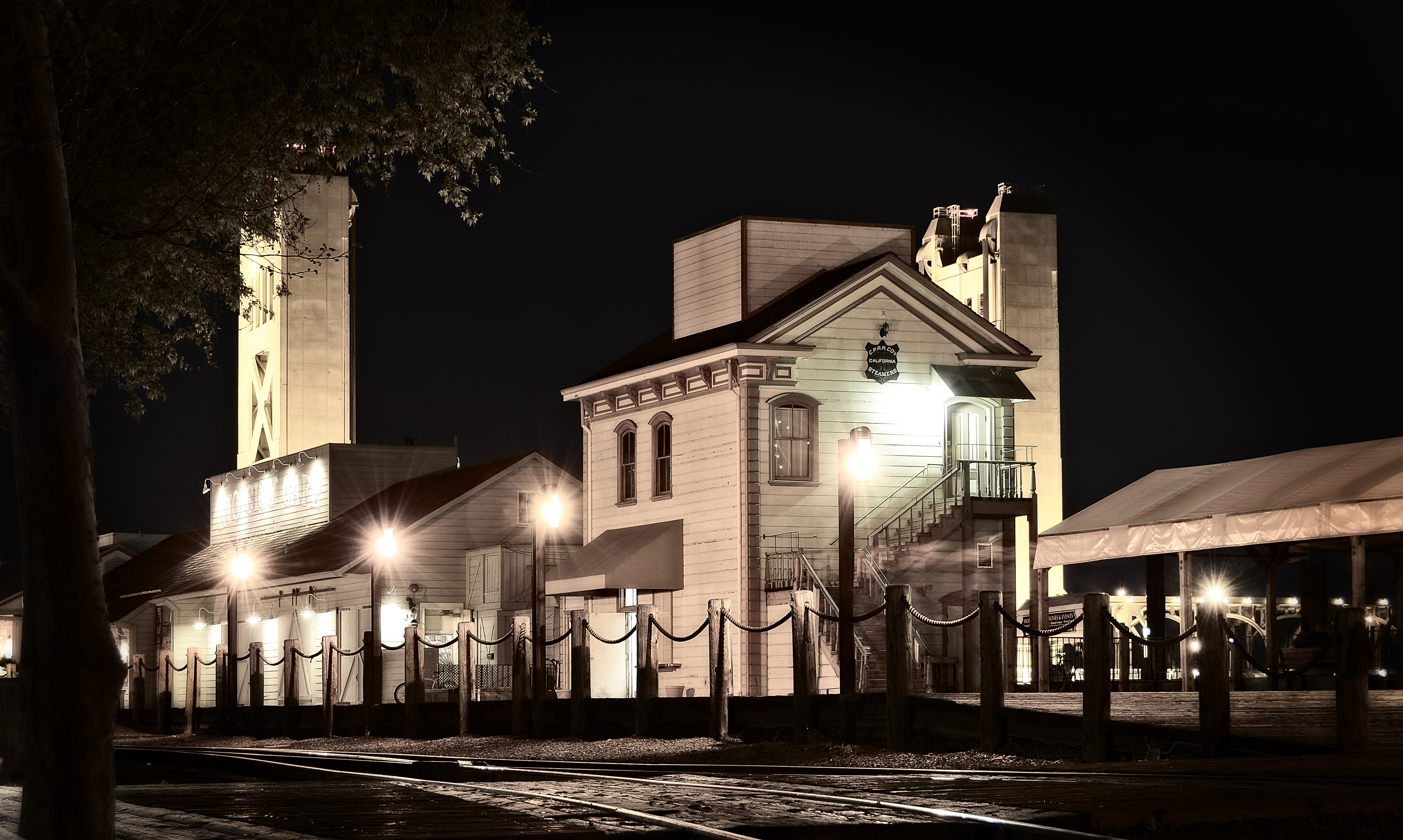 Train Station at Old Sacramento