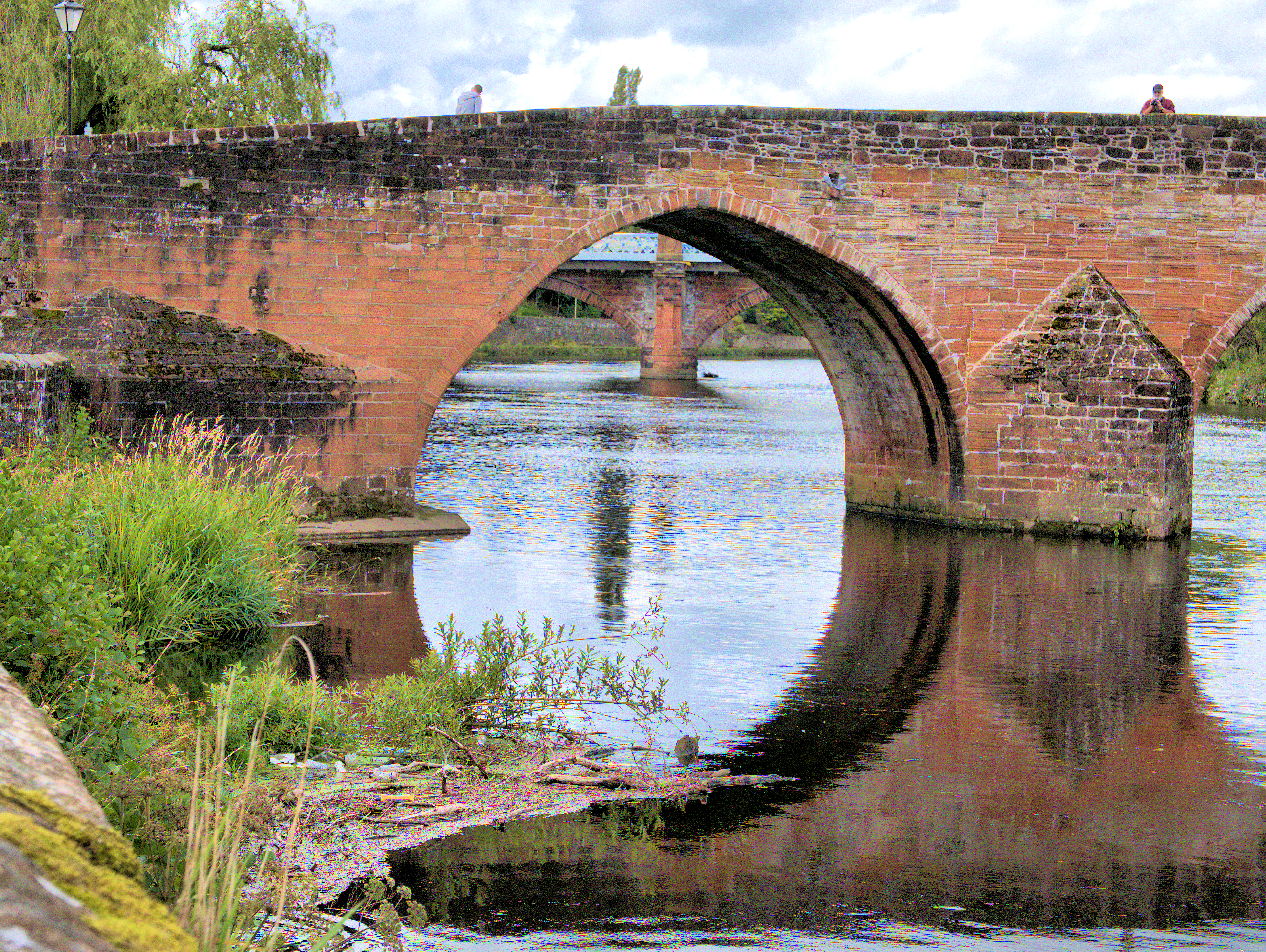 Scotland 2015 reflecting