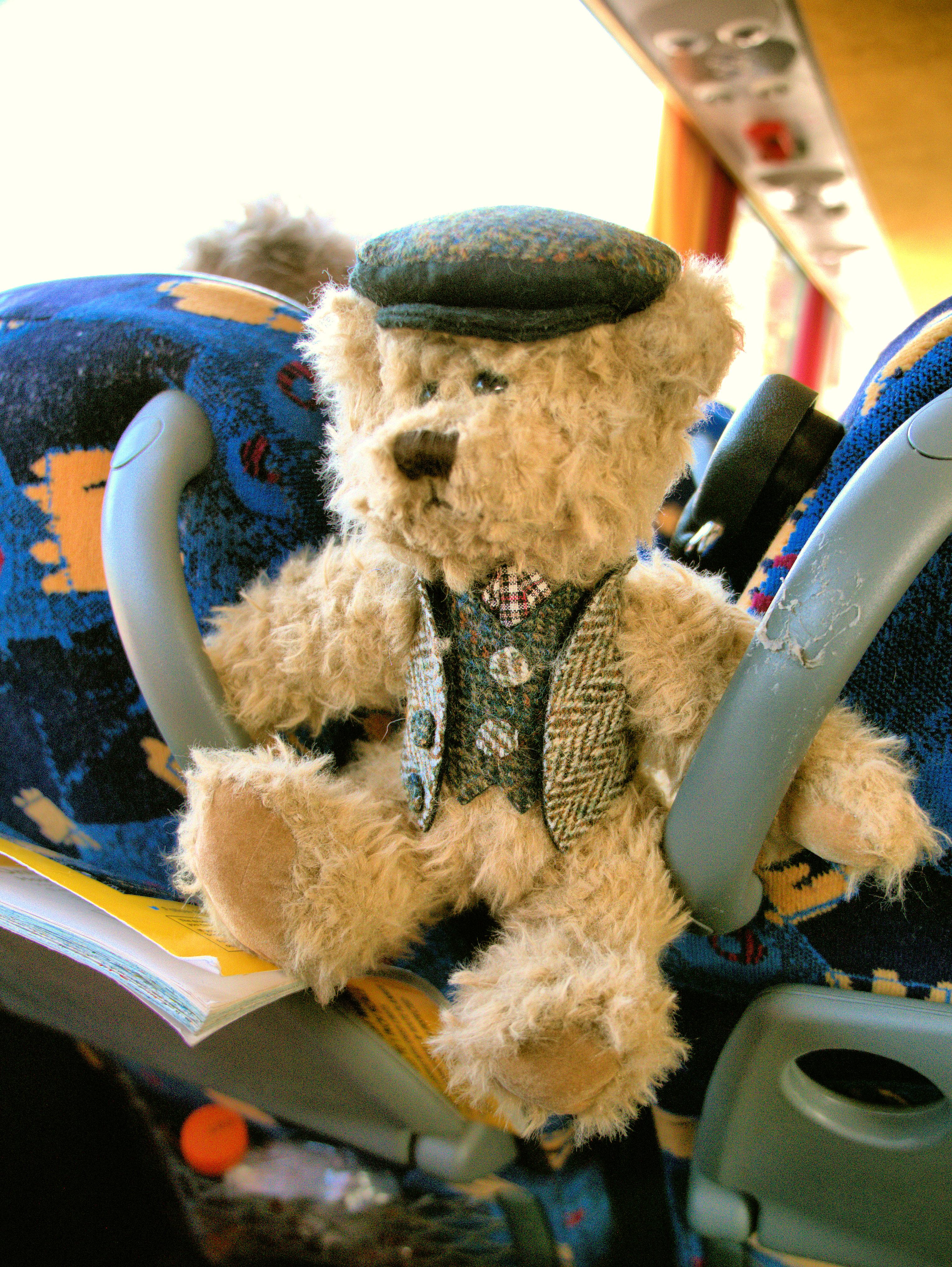 Scotland 2015 on coach