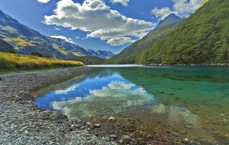 The Clearest water river in New Zealand
