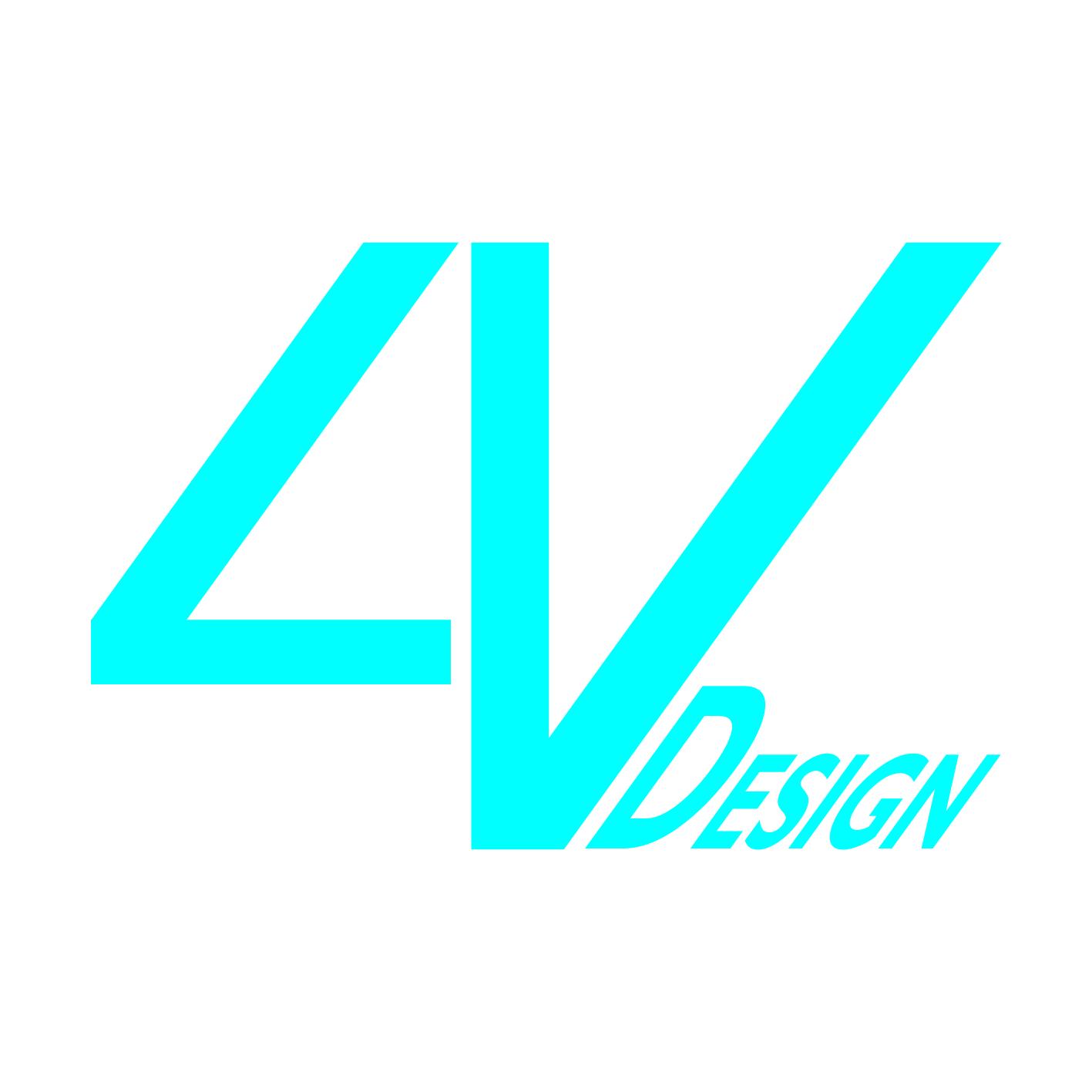 4V Design Logo