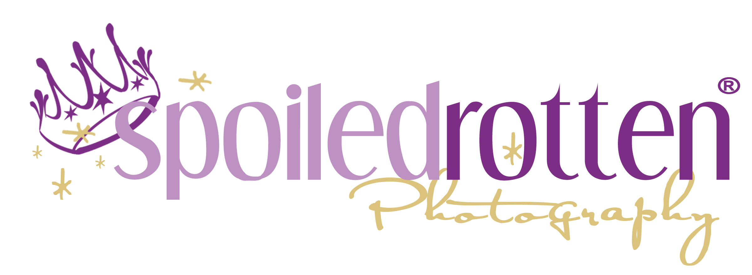 Logo spoiledrotten registered - Photography tag line