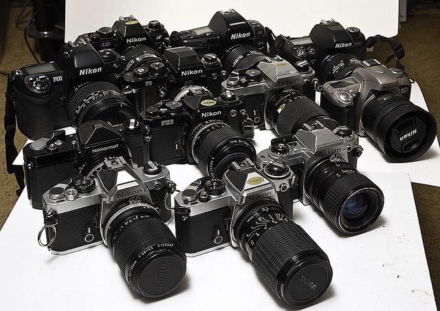 how to use modern nikon lenses on nikon film